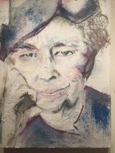 Eleanor painting by Karen Schwartz